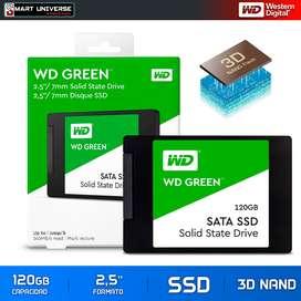 Disco Duro Ssd Solido Western Digital Verde 120gb 2,5''