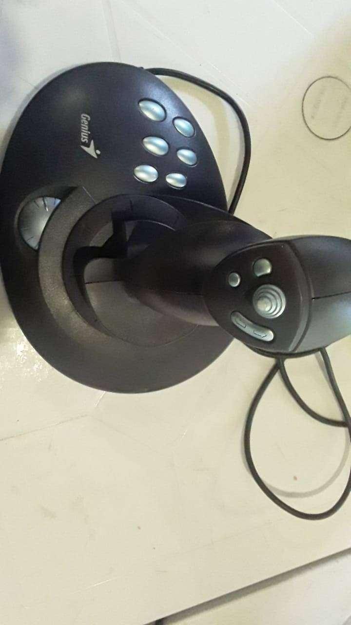 joystick para simulador de vuelo