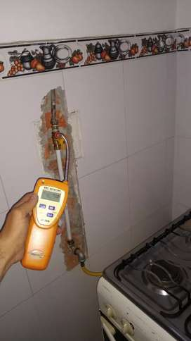 Modificacion y reparacion en redes a gas