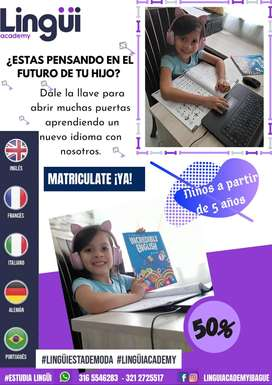 Programa de Inglés para Niños