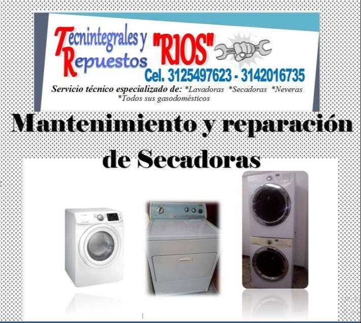 Mantenimiento y reparación de lavadoras, secadoras y neveras
