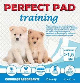 Tapete almohadillas sanitarias de entrenamiento para perros cachorros