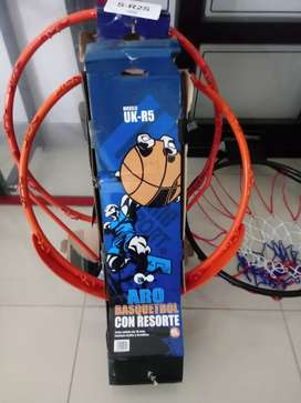 Aros de basket con resorte