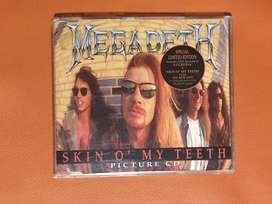 Megadeth Skin O My Teeth cd single original 1992