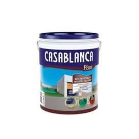 Pintura Para Pisos Casablanca 4lt