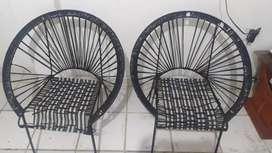 Se venden sillas (negociable)