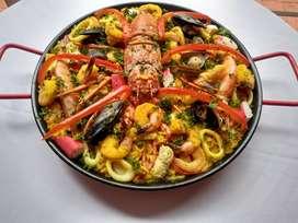 PAELLAS ! DEL VALLE!! Deliciosas!El sabor del Mediterráneo en tu mesa.