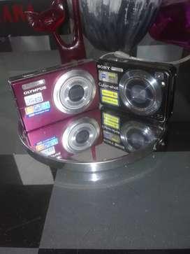 Vendo cámara sony y olympus