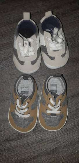Zapatillas carters 0 a 3 meses