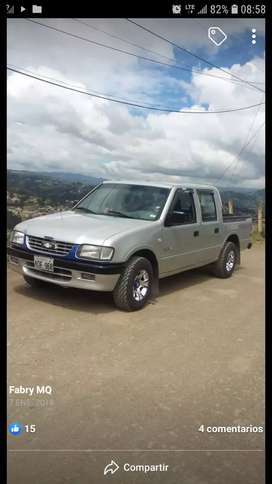 Chevrolet luv doble cabina recién matriculada