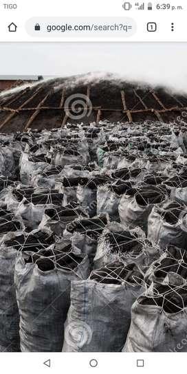 Se vende carbón por mayor