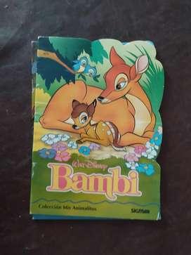 bambi walt disney , sigmar , mis animalitos