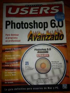 """Photoshop 6.0 avanzado"" Manuales Users"