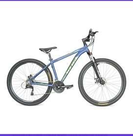 Bicicleta GW zebra azul