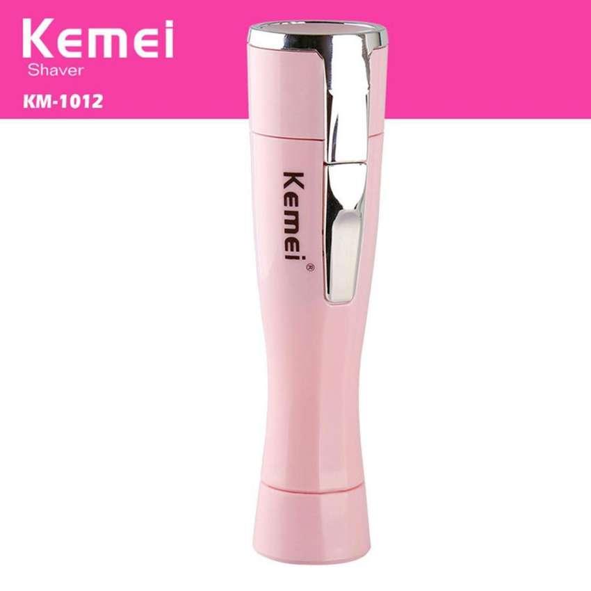 Depiladora Kemei Portatil Impermeable Mujer Dama Eléctrica 0