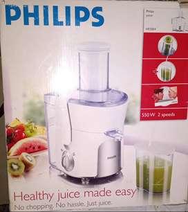 Vendo juguera Philips juicer