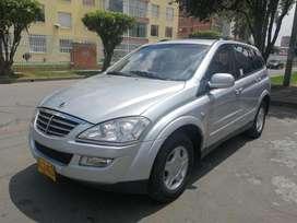 Ssangyong Kyron D20DT MT2000CC Plata Fina AA AB ABS AUT Diesel