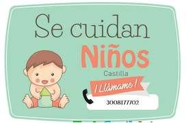 Se cuidan niños en Castilla