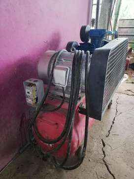 Compresor 7,5 HP 220V 3PH 80 Gl.