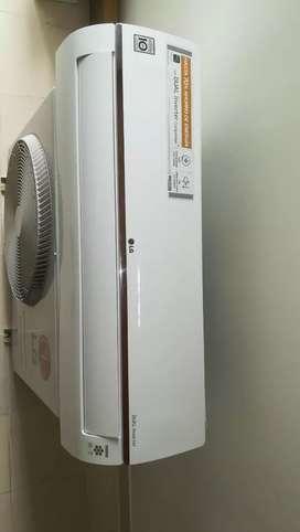 Vendo aire acondicionado de 24000 BTU marca LG sistema Inverter con wifi .