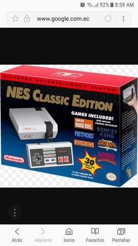 Nintendo Clasica Nueva Pokas Unidades