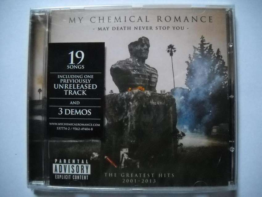 my chemical romance may death never stop you cd nuevo sellado 0