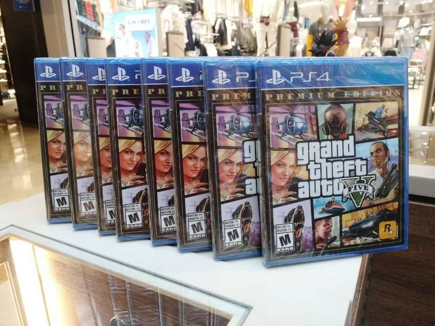 GTA 5 PLAYSTATION 4/PS4 NUEVA SELLADA