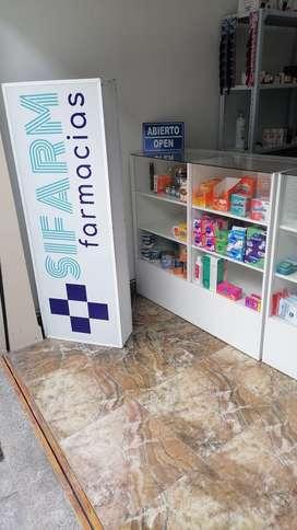 Se vende farmacia totalmente equipada en la ciudad de Cuenca