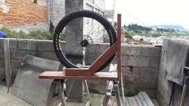Mueble bicicleta