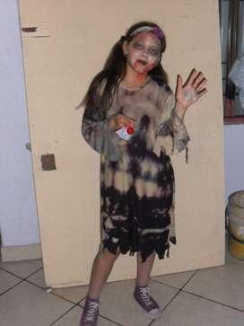 Disfras zombie o muerto