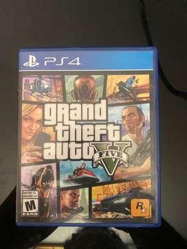 GTA 5 - Juego PS4