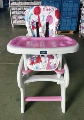 Silla comedor escritorio para niñas y niños