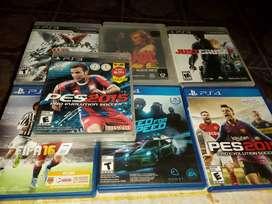 Vendo juegos de ps3 y ps4 como nuevos