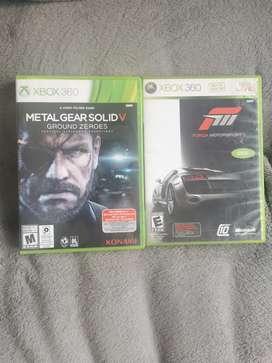 2 juegos para Xbox 360