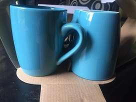 Juego de tazas