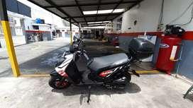 Espectacular motoneta