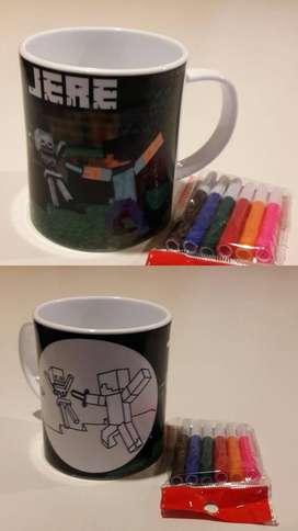 Tazas para colorear!!
