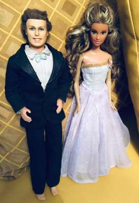 Pareja Barbie y Ken vintage