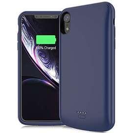 Power Case Para iPhone XS-max De 5000 Mah NEWBERY