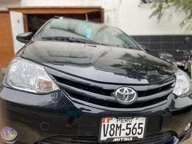 Toyota etios 2017 precio 8700 dolares