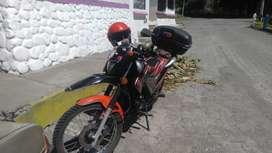 Vendo moto ranger 250a toda prueba