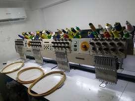 Bordadora Industrial 4 Cabezas