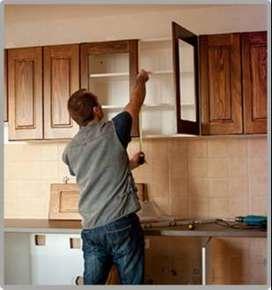 Soy carpintero instalador, trabajo al dia x  $50.000