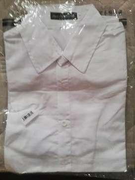 Camisa de Vestir color blanco talla m