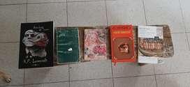 Colección 5 libros