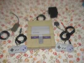 Consola Completa Nintendo Snes Exc Estado C/2 Joystic Transf
