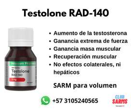 Sarm RAD - 140 Testolone (5mg)