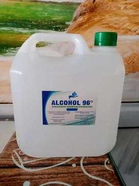 Alcohol al 96% y 70 %