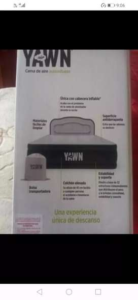 Cama de aire autoinflable YAWN AIR