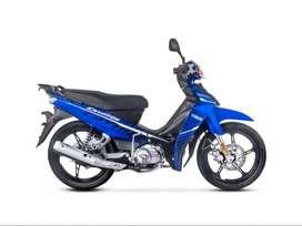 Yamaha Crypton 110 0km c/Cuotas fijas 100% Financiado con DNI!